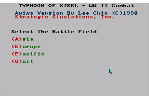 Download Typhoon of Steel - My Abandonware