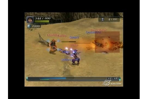 Arc the Lad: End of Darkness PlayStation 2 Gameplay - YouTube