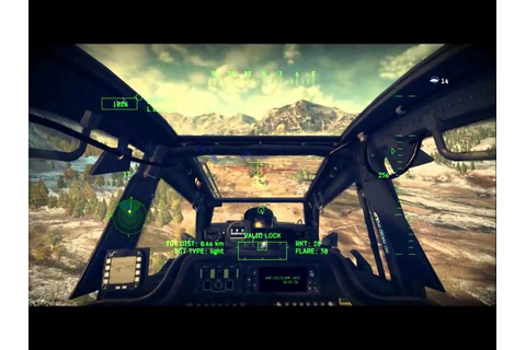 1 Let's Play Apache Air Assault (2010) Mission 1 - YouTube