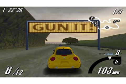 Top Gear Overdrive (Nintendo 64 Gameplay) - YouTube