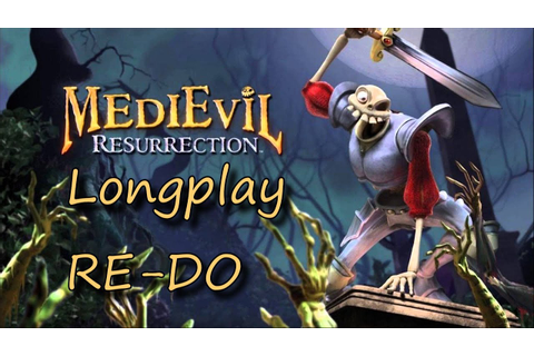PSP Longplay Re-Do: Medievil Resurrection - YouTube