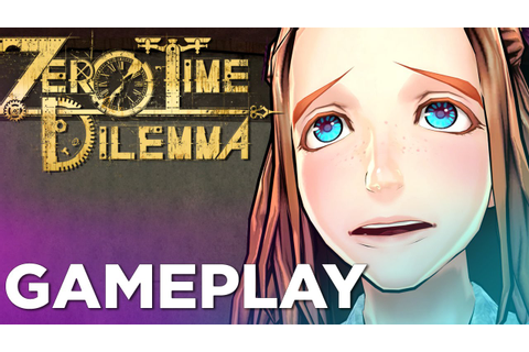 9 Minutes of ZERO TIME DILEMMA English Gameplay - YouTube