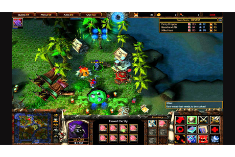 Warcraft 3 The Frozen Throne: Custom Game - Island Troll ...