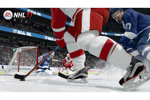 NHL 17 Gameplay Trailer and Images | The Entertainment Factor