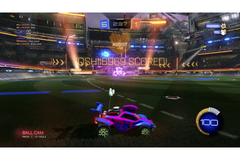 Ep 273 - Rocket League Gameplay - Heatseeker Game 33 - YouTube