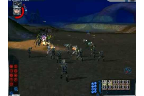 Starship Troopers RTS pc game footage - YouTube
