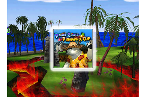 Polar Golfer Pineapple Cup - PrimaryGames.com - Free ...