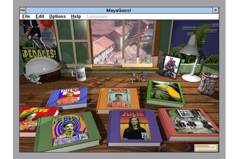MayaQuest: The Mystery Trail Download (1995 Educational Game)