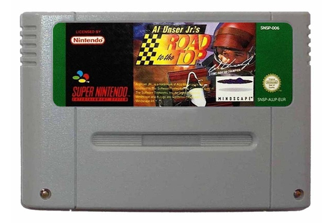 Buy Al Unser Jr.'s Road to the Top SNES Australia