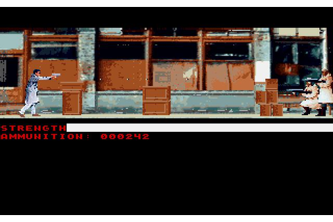 Mean Streets Download (1989 Adventure Game)