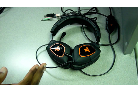 Tritton AX 180 Gaming Headset Review - YouTube