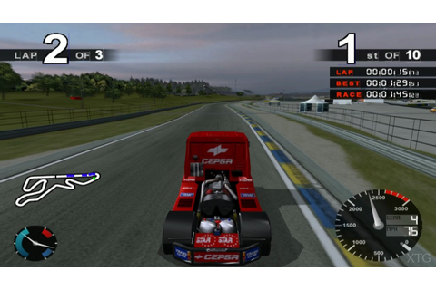 Super Trucks Racing PS2 Gameplay HD (PCSX2) - YouTube