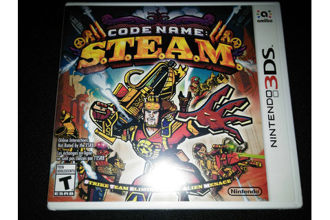 3DS Code Name S.T.E.A.M. Game |BRAND NEW SEALED Nintendo STEAM ...