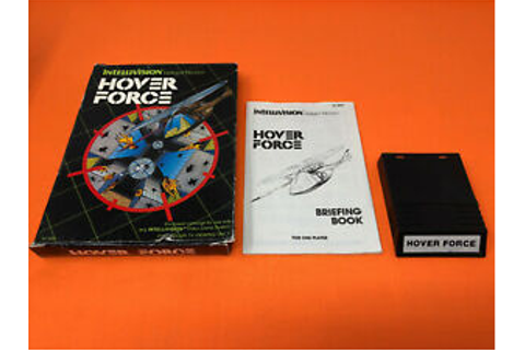 INTELLIVISION HOVER FORCE GAME COMPLETE IN BOX CIB | eBay