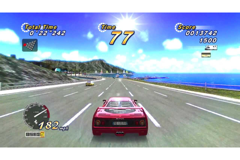 OutRun 2 SP. Online Arcade Edition. Route 1. Xbox 360. HD ...