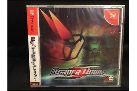 Sega Dreamcast Game Border Down Rare New Sealed Unopened ...