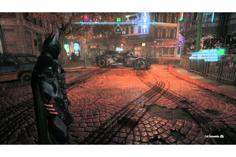 Batman Arkham Knight | PS4 Game Footage - YouTube