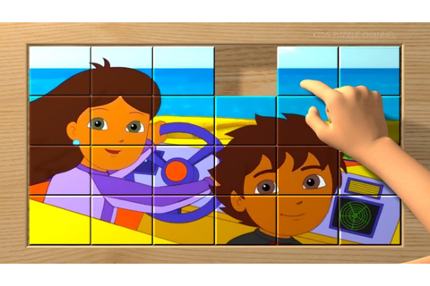 GO DIEGO GO! Puzzle Blocks Game for Kids Puzzles Box - YouTube
