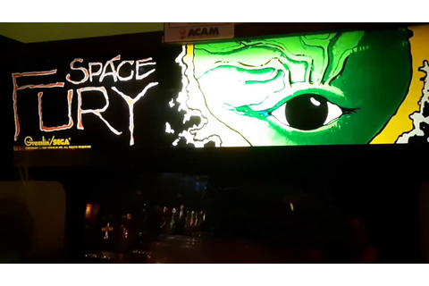 Space Fury Classic Arcade Game at fun spot Arcade worlds ...