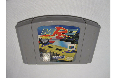 MRC: Multi-Racing Championship (Nintendo N64) Game ...