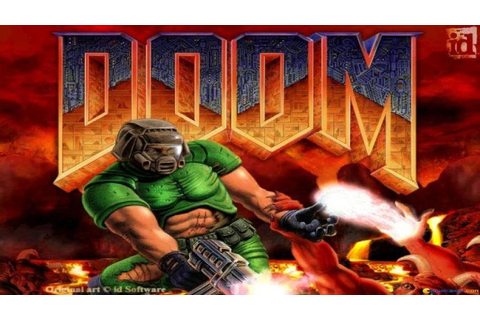 Doom gameplay (PC Game, 1993) - YouTube