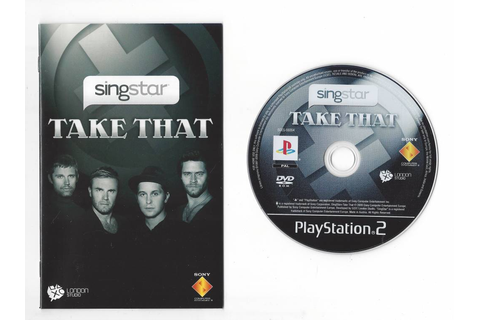 SingStar Take That for Playstation 2 - Passion for Games ...