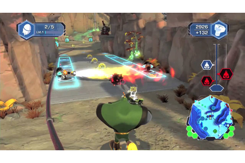 Ratchet & Clank: Q-Force HD Gameplay Video - The First ...