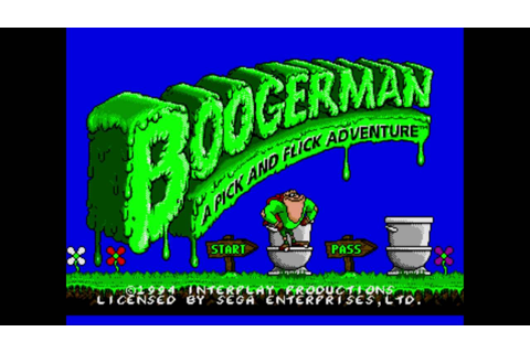 Boogerman: A Pick and Flick Adventure - YouTube
