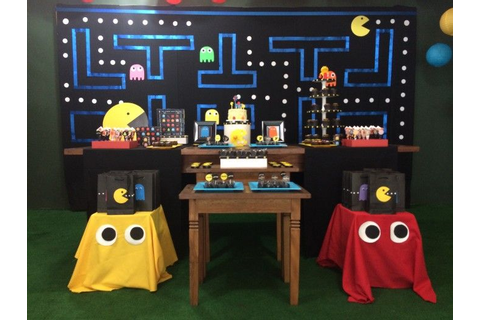 Best 25+ Pac man party ideas on Pinterest | 1980s party ...