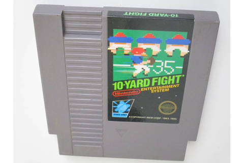 10-Yard Fight game for Nintendo NES | The Game Guy
