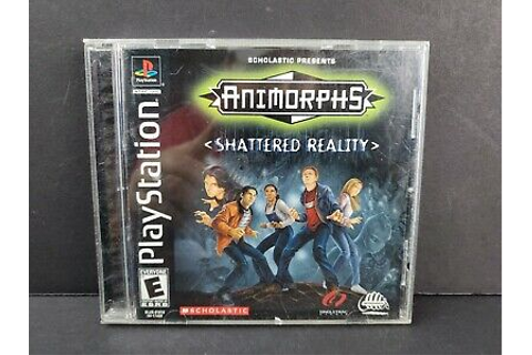 Animorphs: Shattered Reality (Sony PlayStation 1, 2000 ...
