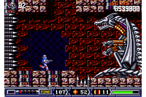 Turrican II: The Final Fight (1991) by Factor 5 for Amiga