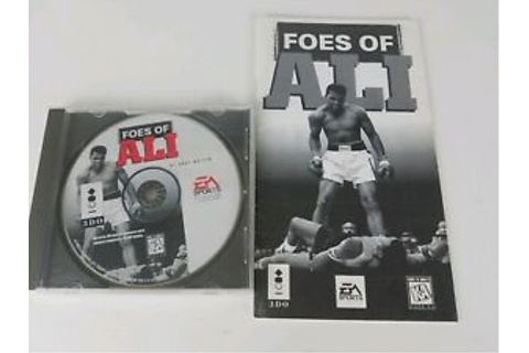 Foes of Ali Panasonic 3DO Game and Manual only - Tested ...