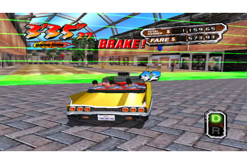 [OLD GAME] Crazy Taxi 3 - Gameplay - YouTube