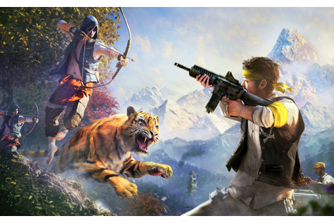 Far Cry 4 Game, HD Games, 4k Wallpapers, Images ...