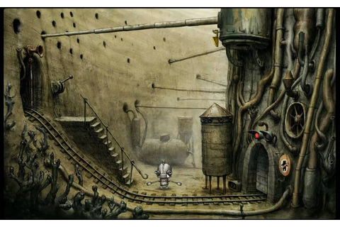 Machinarium Walkthrough Level 3 - YouTube