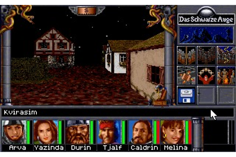 Realms of Arkania: Star Trail (DOS) Game Download