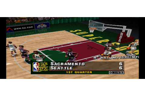 NBA Live 96 (PSX) Game - Playstation NBA Live 96 (PSX)