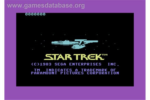 Star Trek: Strategic Operations Simulator - Commodore 64 ...