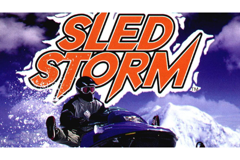 CGRundertow SLED STORM for PlayStation Video Game Review ...