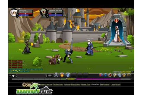 Adventure Quest Worlds Gameplay Footage - YouTube