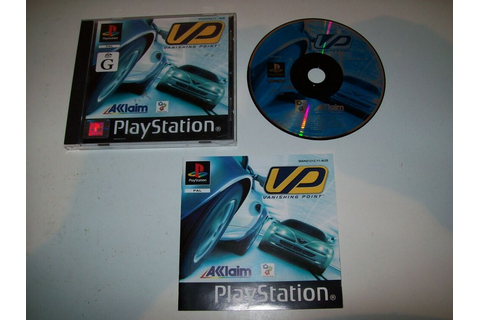Vanishing Point Great PS1-PS2 Game | eBay