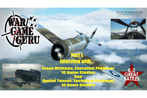 IL-2 Sturmovik Great Battles - Interview with 1C Game ...