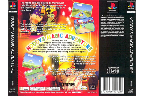 Noddy's Magic Adventure [SLES-02878] - PSX Planet: SONY ...
