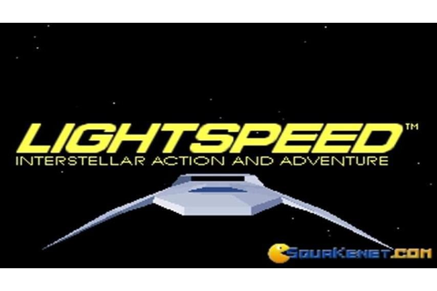 Lightspeed gameplay (PC Game, 1990) - YouTube