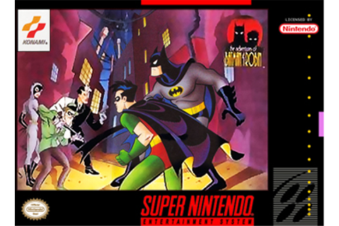 The Adventures of Batman & Robin (video game) - Wikipedia