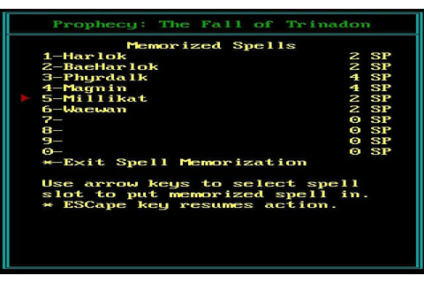 Prophecy: The Fall of Trinadon on Qwant Games