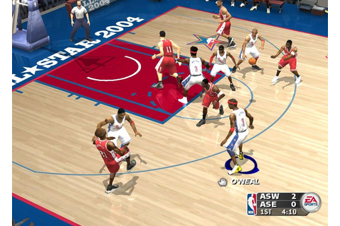 NBA Live 2004 Game - Free Download Full Version For Pc