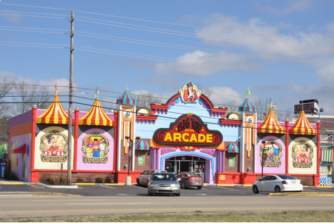 Big Top Arcade is a circus-themed indoor arcade located in ...