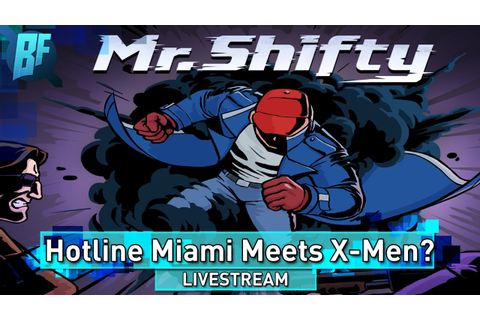 Mr. Shifty: New Top Down Hotline Miami Style Game By Tiny ...